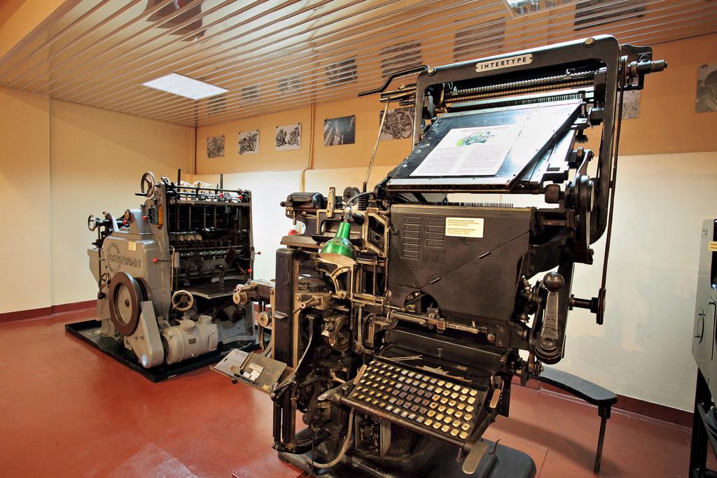 Από το Μουσείο Τυπογραφίας στα Χανιά, Τρίτη 12 Απριλίου 2011. ΑΠΕ-ΜΠΕ / ΣΠΥΡΟΣ ΖΑΧΑΡΑΚΗΣ