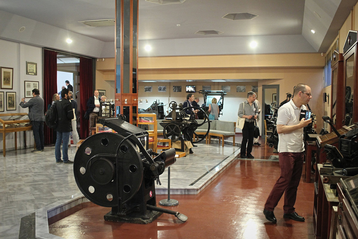 museum of typography making printing history in crete the annual conference of the aepm 11