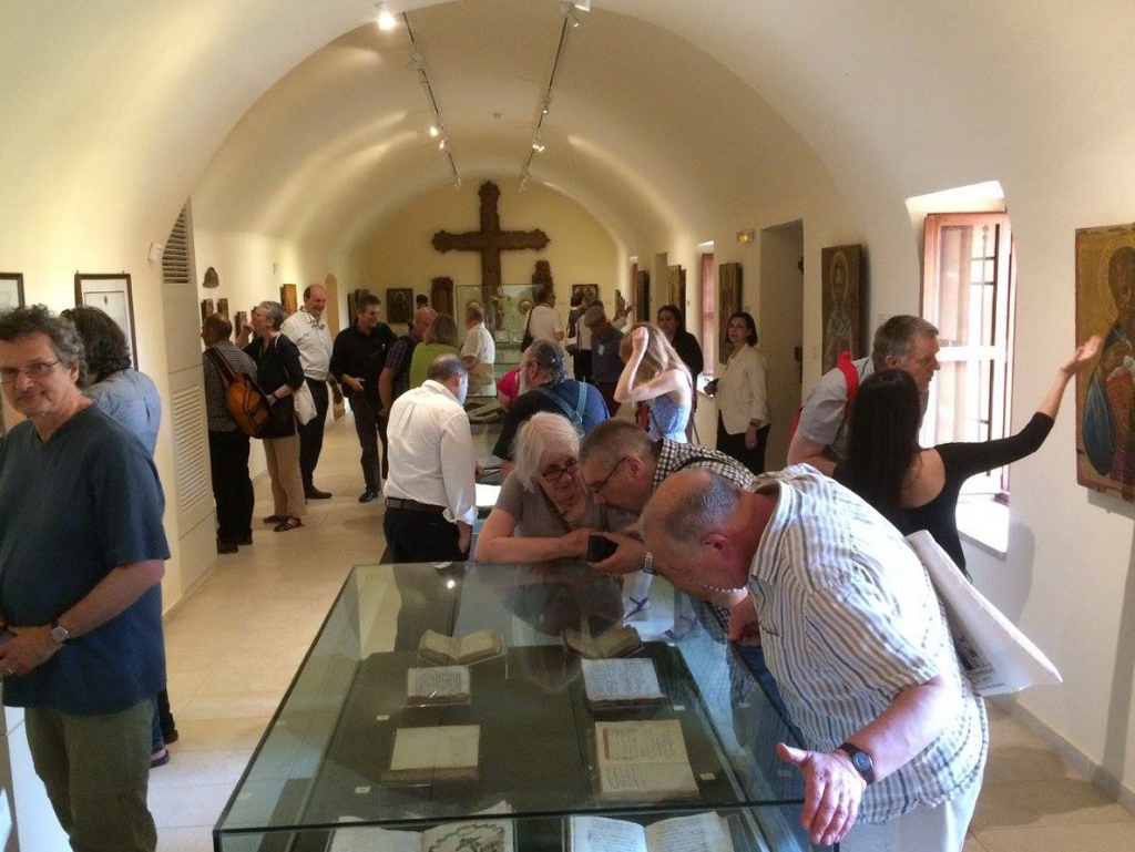 Saturday visit at the permanent exhibition of rare books at the Holy Trinity Monastery.