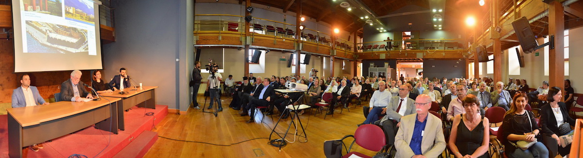 Opening session at the Centre for Mediterranean Architecture (Photo: Haniotika Nea.)
