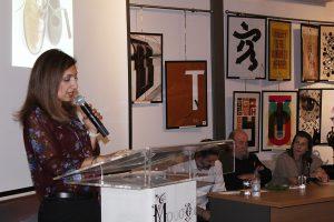 Την εκδήλωση συντόνισε η δ/ντρια του μουσείου Έλια Κουμή.